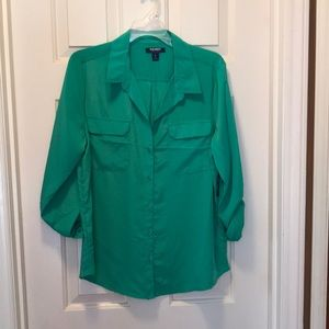 Old Navy button down blouse NWT
